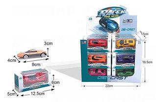 Набор модельных игрушечных машин (24 шт в упаковке) (ЖМ608-С*)