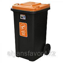 Мусорный контейнер комбинированный на 120 литров. РК, фото 3