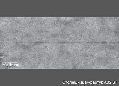 Комплект Панель + Столешница A 002 универсал (без рисунка)