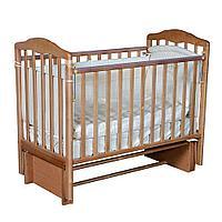 Детская кроватка АЛИТА 3/5 Бук (универсальный маятник, автостенка), фото 1