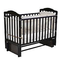 Детская кроватка АЛИТА 3/5 Венге (универсальный маятник, автостенка), фото 1
