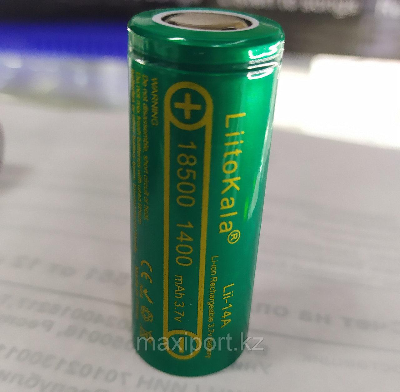 18500 3.7v 1400mah аккумулятор для бритв и эпиляторов (braun)