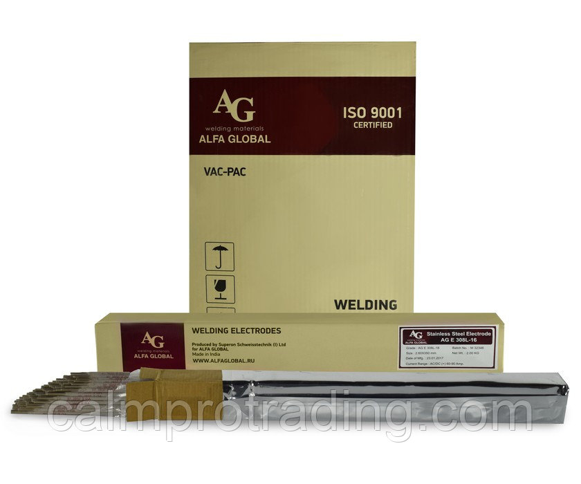 Электроды AG E 316L-16 Ø 2,0х300мм 2 кг