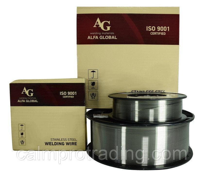 Проволока AG ER 308LSi Ø 0,8мм 5 кг