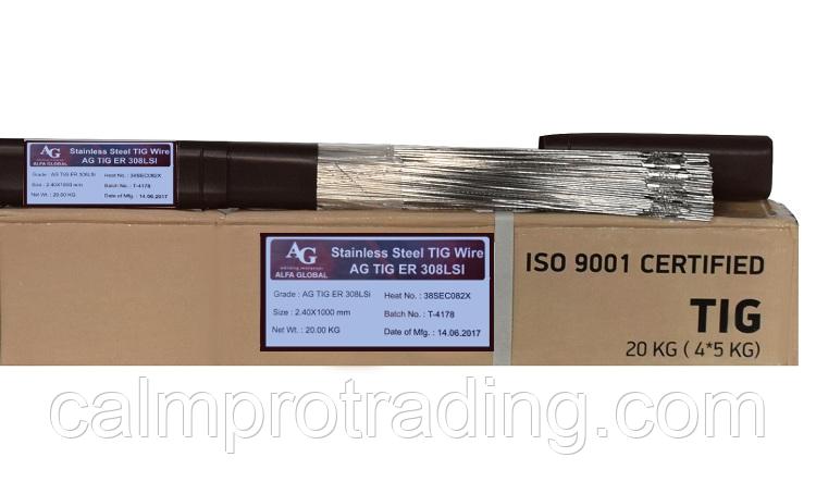 Пруток AG TIG ER 308LSI Ø 3,2х1000мм 5 кг