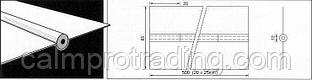 Керамическая подкладка PZ 1500/52 Brown, Tape, D=12