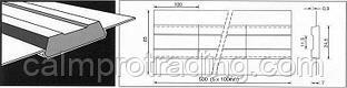Керамическая подкладка PZ 1500/71 Grey,Tape,Rectang