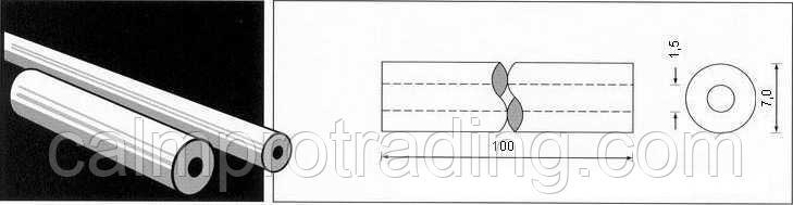 Керамическая подкладка PZ 1500/08 Brown,Loose,Round