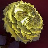 Светильник.  Пионовидная Роза., фото 5