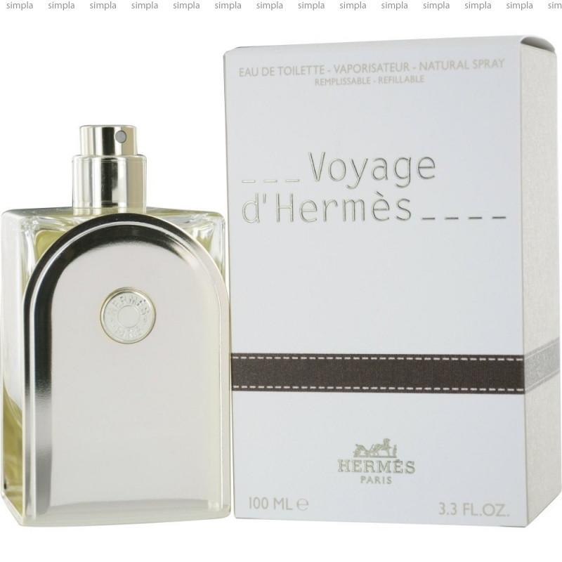 Hermes Voyage d`Hermes туалетная вода объем 100 мл Тестер (ОРИГИНАЛ)