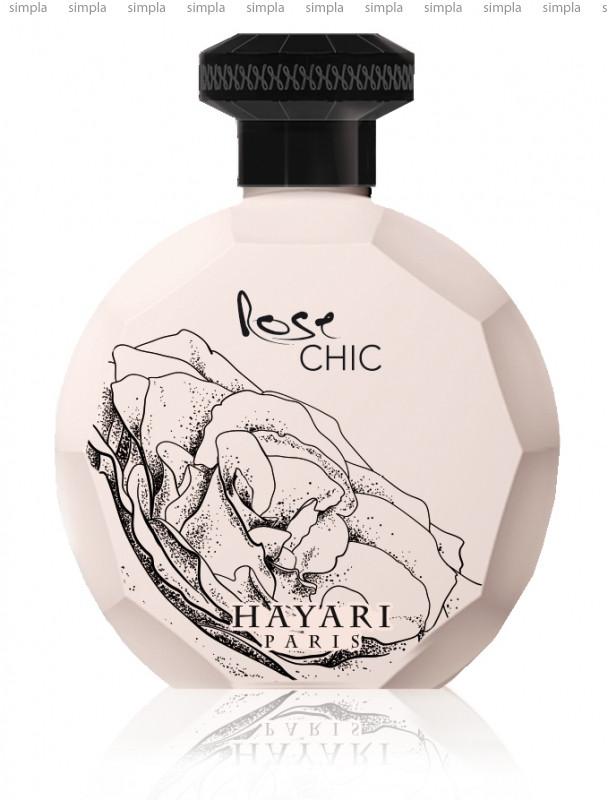Hayari Parfums Rose Chic парфюмированная вода объем 100 мл тестер (ОРИГИНАЛ)