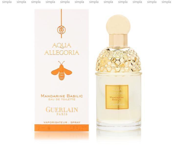 Guerlain Aqua Allegoria Mandarine Basilic туалетная вода объем 75 мл (ОРИГИНАЛ)