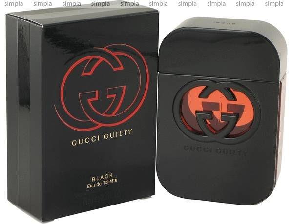 Gucci Guilty Black Pour Femme туалетная вода объем 75 мл Тестер (ОРИГИНАЛ)