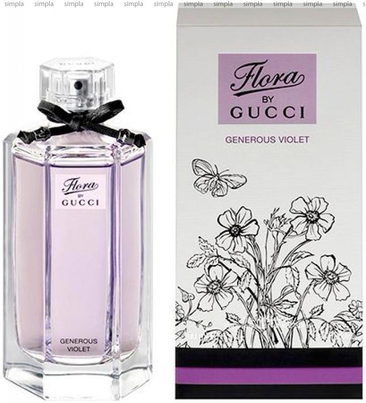 Gucci Flora by Gucci Generous Violet туалетная вода объем 100 мл Тестер (ОРИГИНАЛ)