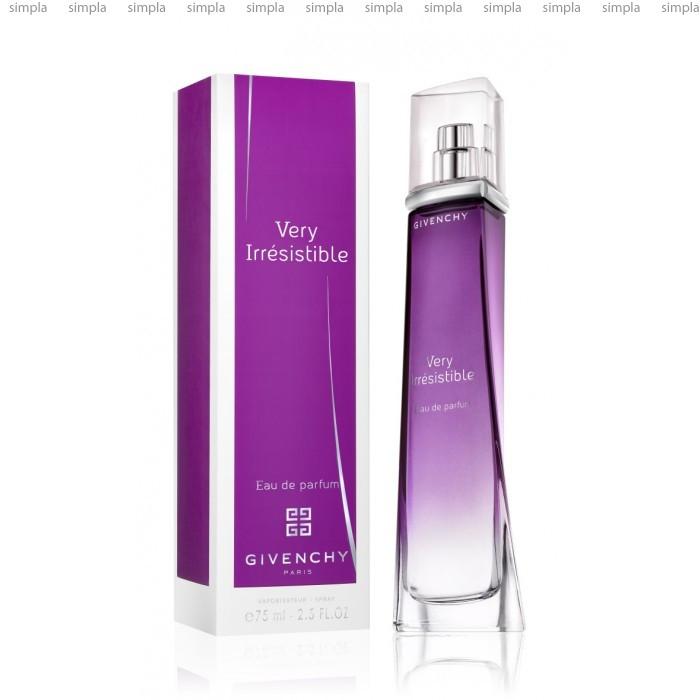 Givenchy Very Irresistible парфюмированная вода объем 75 мл (ОРИГИНАЛ)
