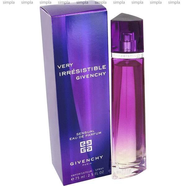 Givenchy Very Irresistible Sensual парфюмированная вода объем 75 мл (ОРИГИНАЛ)