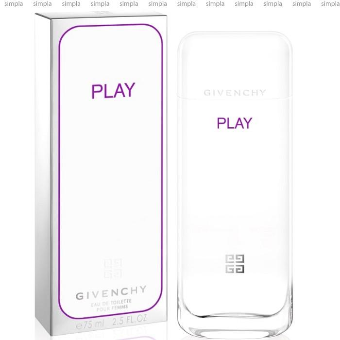 Givenchy Play For Her туалетная вода объем 75 мл тестер (ОРИГИНАЛ)