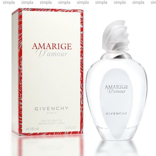 Givenchy Amarige Damour туалетная вода объем 100 мл (ОРИГИНАЛ)