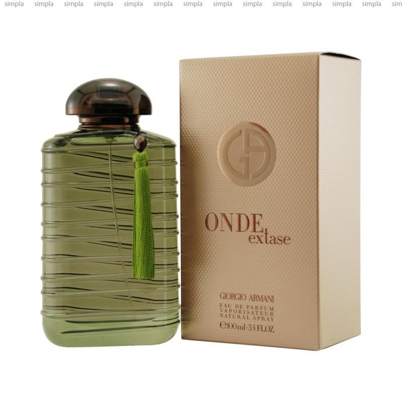 Giorgio Armani Onde Extase парфюмированная вода объем 100 мл Тестер (ОРИГИНАЛ)