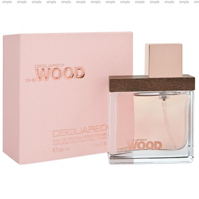 DSquared2 She Wood парфюмированная вода объем 100 мл (ОРИГИНАЛ)