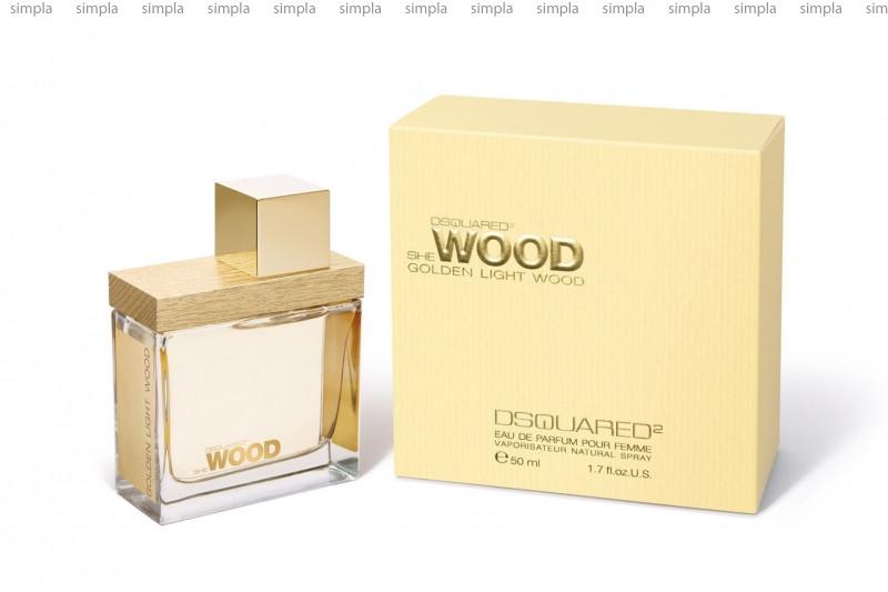 DSquared2 She Wood Golden Light Wood парфюмированная вода объем 30 мл (ОРИГИНАЛ)