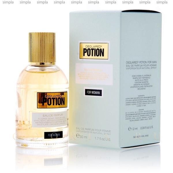 DSquared2 Potion For Woman парфюмированная вода объем 100 мл Тестер (ОРИГИНАЛ)