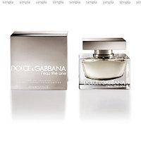 Dolce & Gabbana The One L'Eau туалетная вода объем 50 мл Тестер (ОРИГИНАЛ)