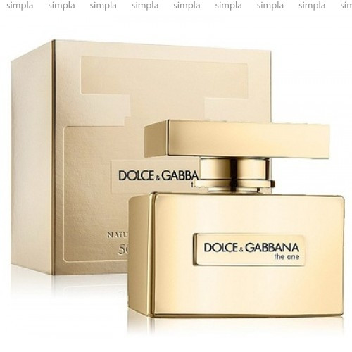 Dolce & Gabbana The One Gold Limited Edition парфюмированная вода объем 75 мл (ОРИГИНАЛ)