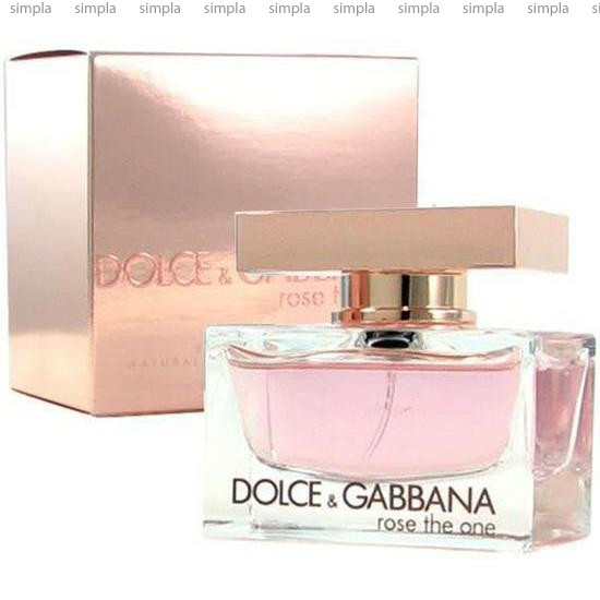 Dolce & Gabbana Rose The One парфюмированная вода объем 75 мл (ОРИГИНАЛ)