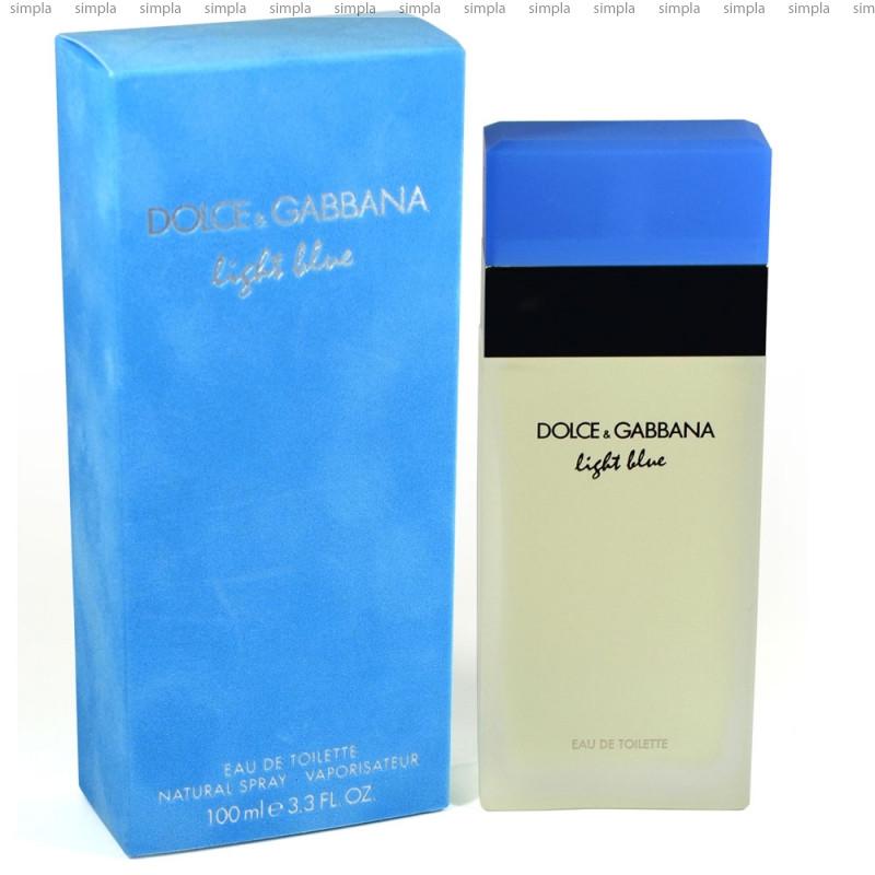 Dolce & Gabbana Light Blue туалетная вода объем 100 мл (ОРИГИНАЛ)