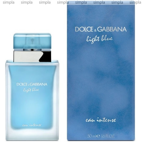 Dolce & Gabbana Light Blue Eau Intense парфюмированная вода объем 100 мл (ОРИГИНАЛ)