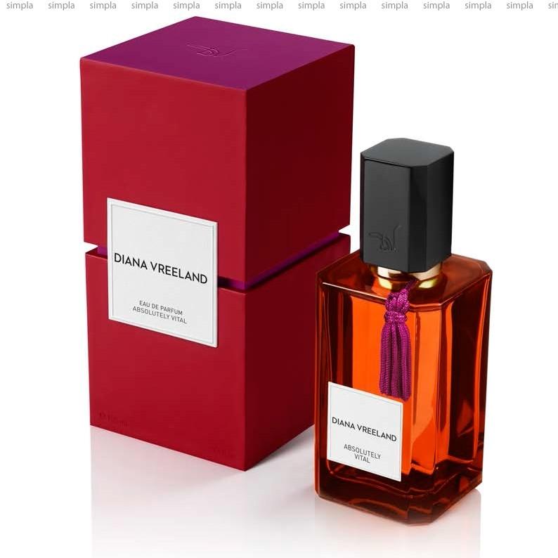 Diana Vreeland Absolutely Vital парфюмированная вода объем 100 мл тестер (ОРИГИНАЛ)