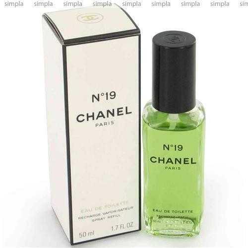 Chanel N19 туалетная вода объем 100 мл refill (ОРИГИНАЛ)