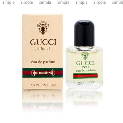 Gucci No 1 парфюмированная вода винтаж объем 60 мл Refil (ОРИГИНАЛ)