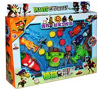 Набор фигурок растения против зомби Plants vs zombies (4 зомби , 3  растения, 6 боеприпасов для растений) 9045