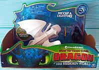 Dragons Игровой набор Дневная Фурия или Ночная Фурия и фигурка