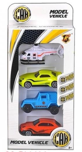 Набор игрушечных машин 4в1  (Р868-А-CS*)