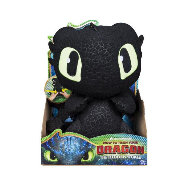Dragons Плюшевый Беззубик со звуковыми эффектами