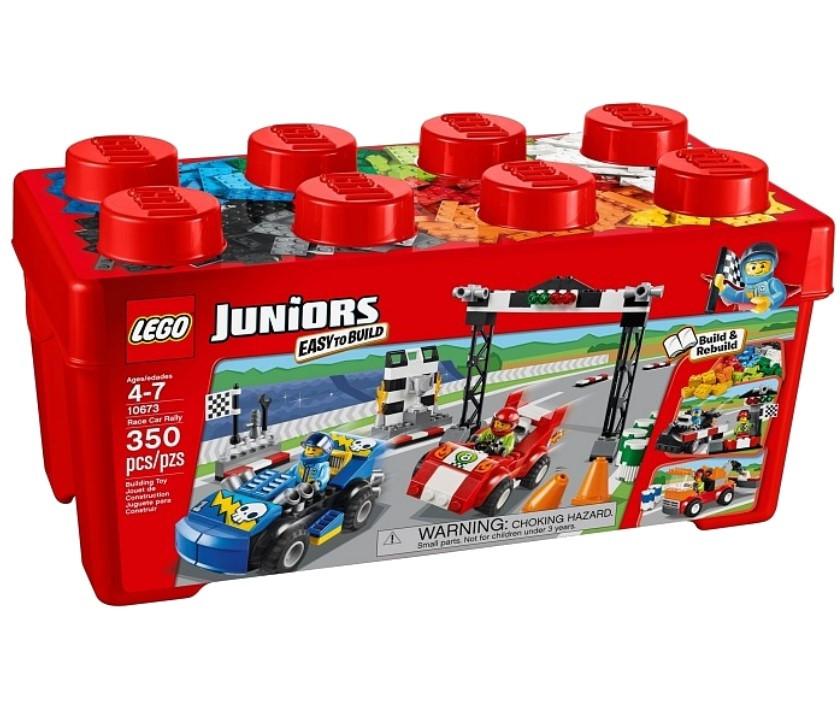 10673 Lego Juniors Раллийные гонки, Лего Джуниорс