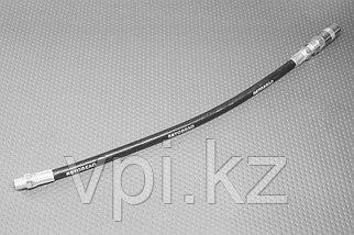 Наконечник шприца плунжерного 3-х лепестковый, с гибким шлангом 300мм, АвтоДело