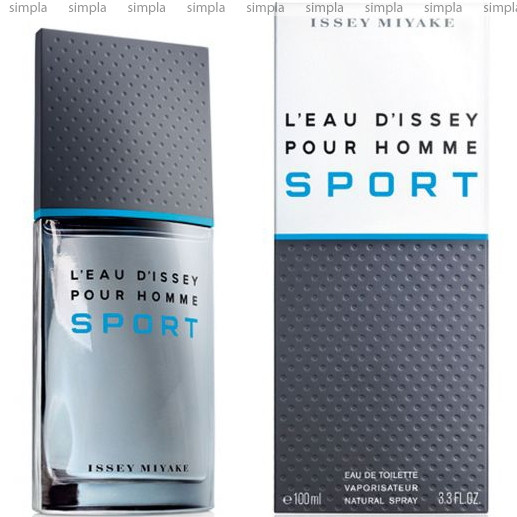 Issey Miyake L`Eau D`issey Sport туалетная вода объем 100 мл (ОРИГИНАЛ)