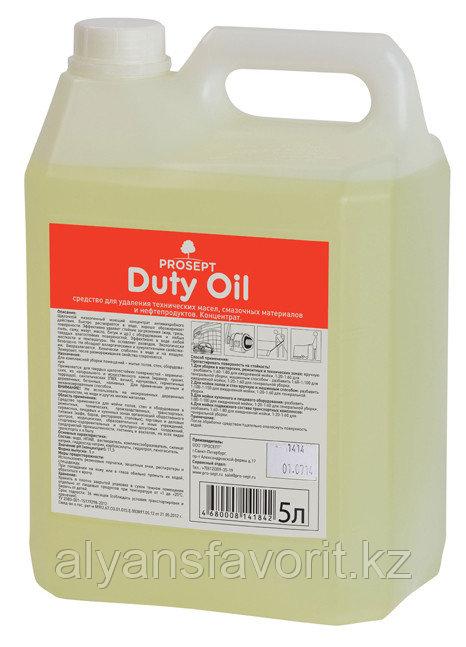 Duty Oil - средство для удаления технических масел и нефтепродуктов. 5 литров.РФ