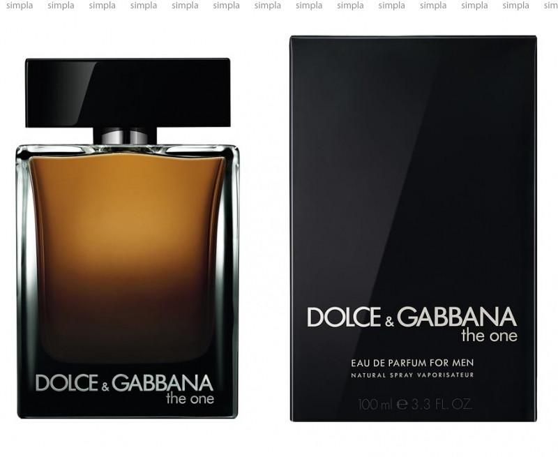 Dolce & Gabbana The One For Men Parfum парфюмированная вода объем 100 мл (ОРИГИНАЛ)