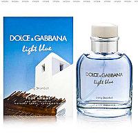 Dolce & Gabbana Light Blue Living Stromboli туалетная вода объем 125 мл Тестер (ОРИГИНАЛ)