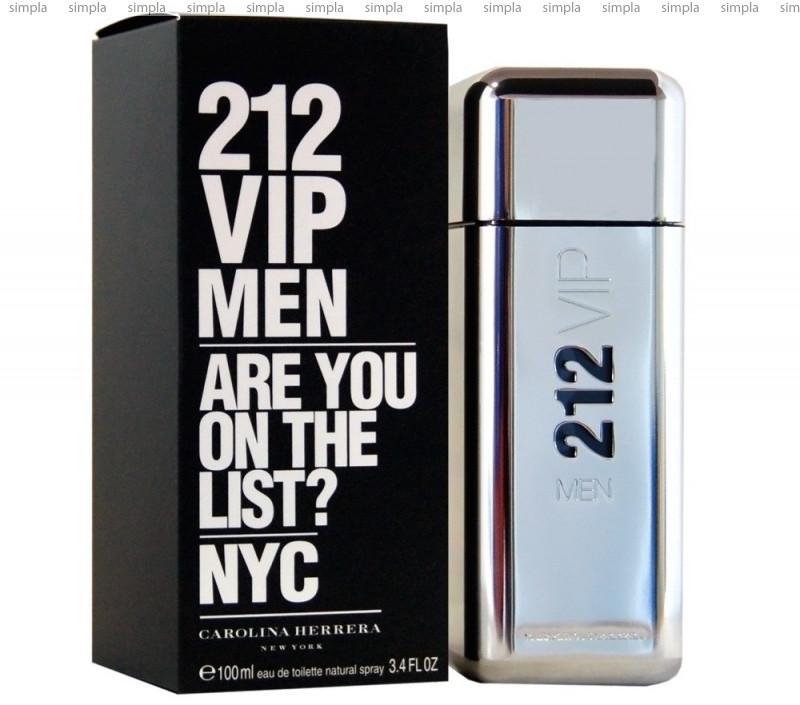 Carolina Herrera 212 VIP Men туалетная вода объем 50 мл (ОРИГИНАЛ)