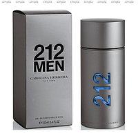 Carolina Herrera 212 Men туалетная вода объем 30 мл (ОРИГИНАЛ)