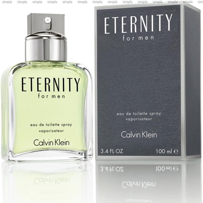 Calvin Klein Eternity For Men туалетная вода объем 100 мл (ОРИГИНАЛ)
