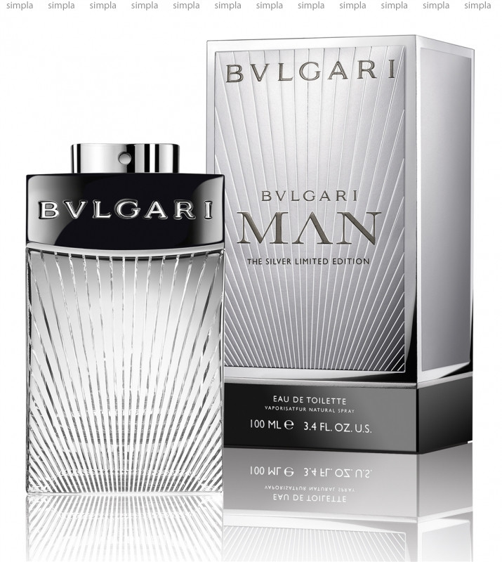 Bvlgari Man The Silver Limited Edition туалетная вода объем 100 мл (ОРИГИНАЛ)