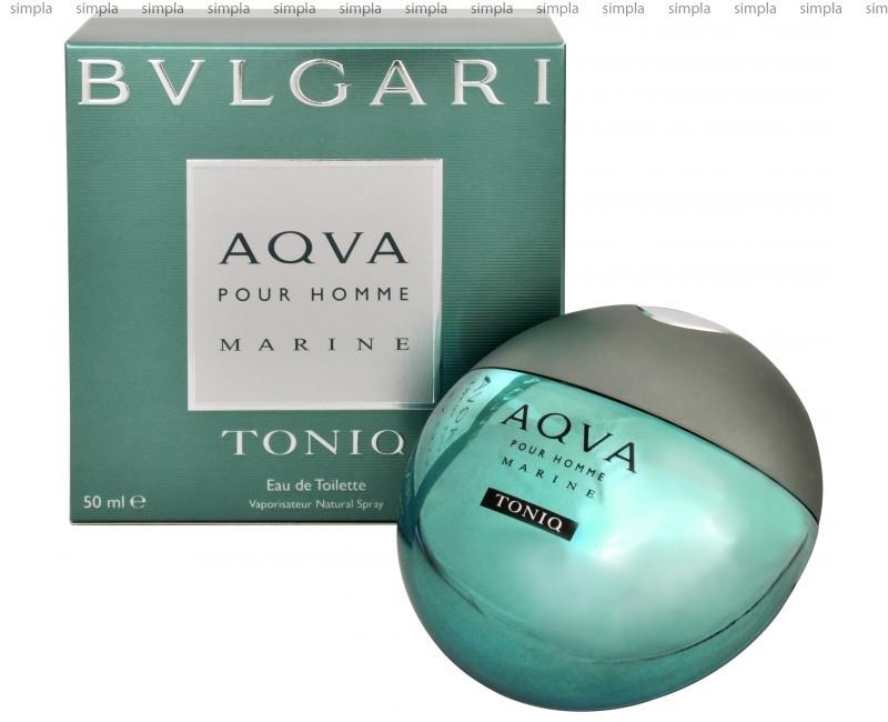Bvlgari Aqva Pour Homme Marine Toniq туалетная вода объем 100 мл (ОРИГИНАЛ)