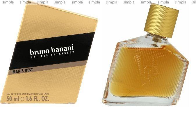 Bruno Banani Man's Best туалетная вода объем 50 мл тестер (ОРИГИНАЛ)